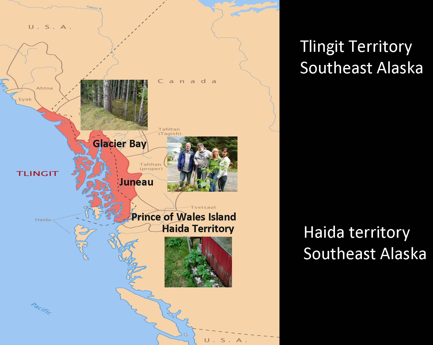 Historical Archaeology In Alaska Society For Historical Archaeology - Map alaska superimposed us