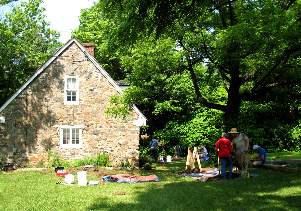 Excavation at Market Master's House