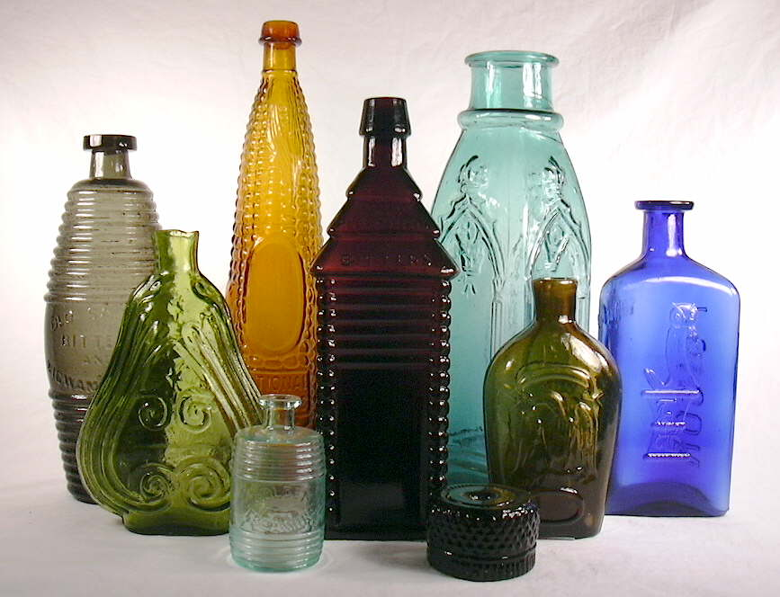 Bottle related links Painting old glass bottles