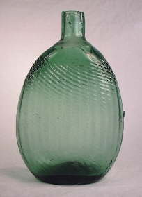 Mid-western Pitkin flask; click to enlarge.