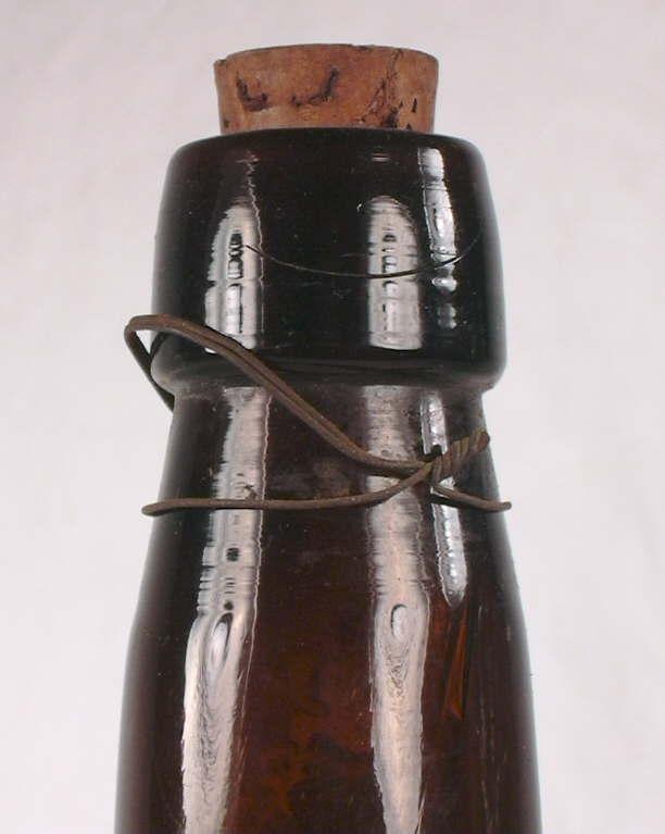 String bottle stamp