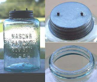 Knox Mason jar dating