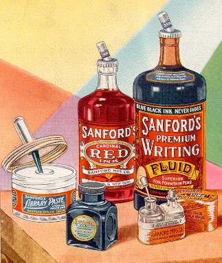 Dating sanford ink bottles