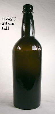 25fea578722968 Image of a mid-19th century spirits ale bottle  click to enlarge.