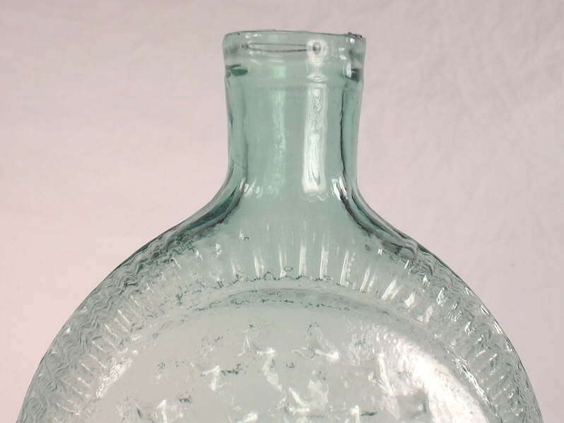 Hyperlink to a side view of this flask.
