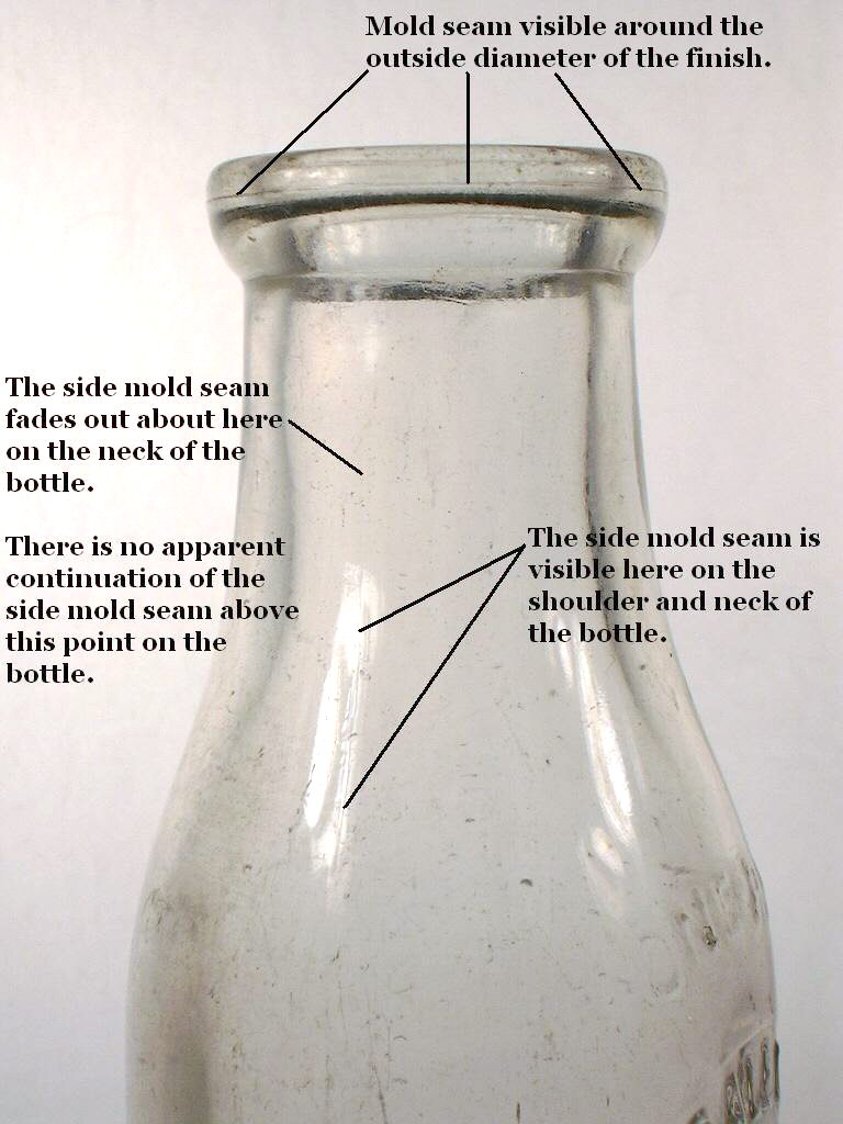 Duraglas milk bottle dating
