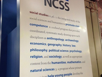 SHA at the National Council for the Social Studies Conference