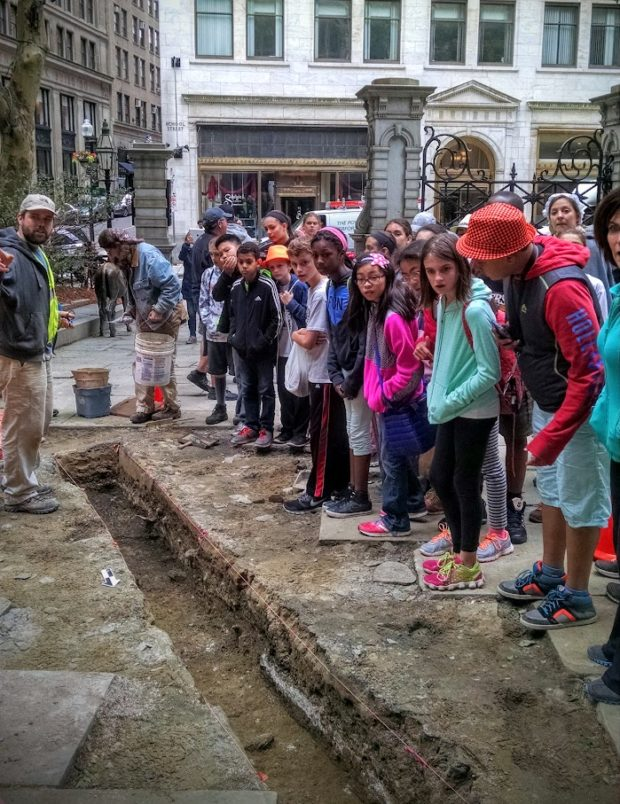 Urban Public Archaeology, or, What to Expect When You're Expecting a Million Visitors