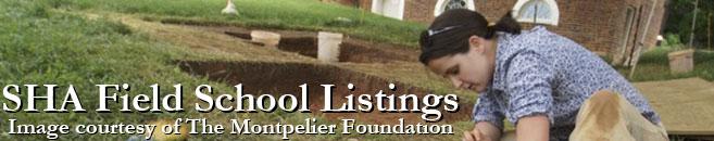 SHA Field School Listings
