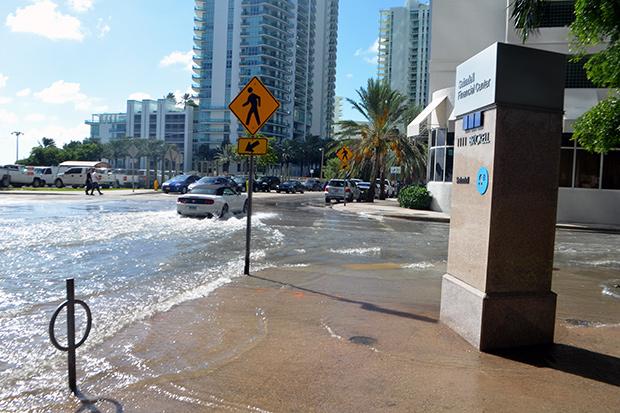 Tidal Flooding Miami